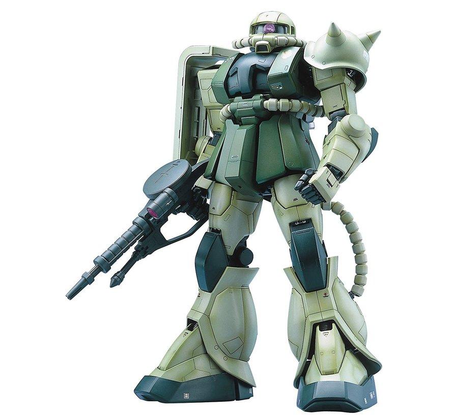 072361 MS-06F Zaku II Green, Bandai PG