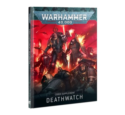 Games Workshop -GW 39-01 CODEX: DEATHWATCH