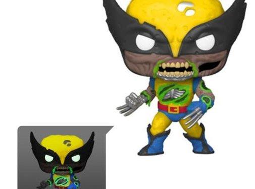 Funko Pop! Marvel Zombies Wolverine Glow-in-the-Dark Pop! Vinyl Figure - Entertainment Earth Exclusive