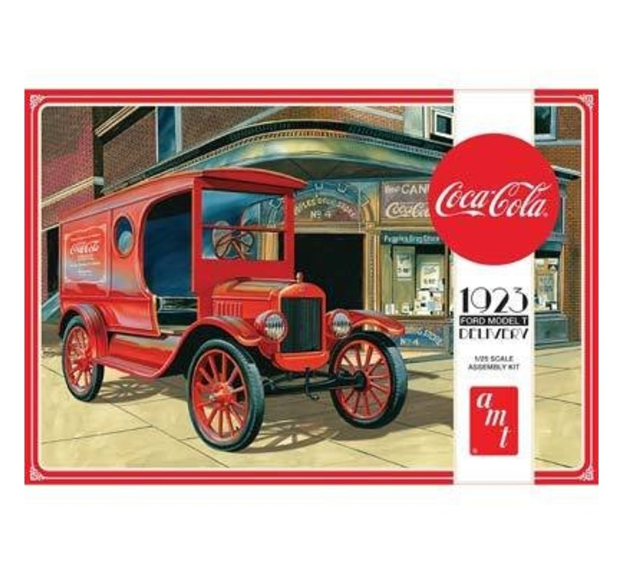 AMT1024/12 1/25 Coca Cola 1923 Ford Model T Delivery