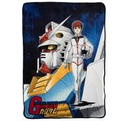 BIOWorld (BW) Gundam Original Cover Fleece Throw Blanket