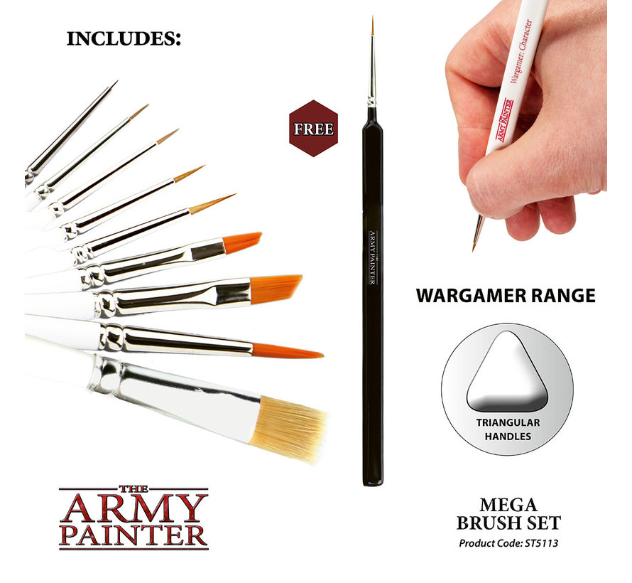 ST5113 Mega Brush Set
