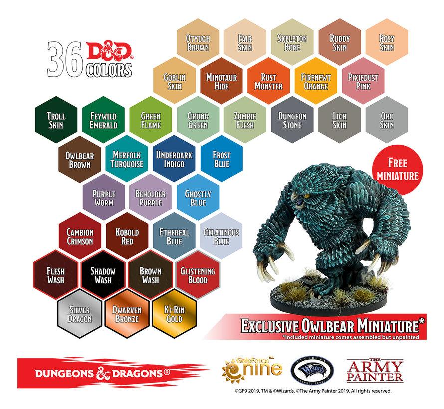 75002 D&D Monsters Paint Set