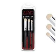 Army Painter (ARM) TL5054 Masterclass Drybrush Set, 3 pcs