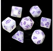 Die Hard Dice Purple Moonstone - 7 Piece Set