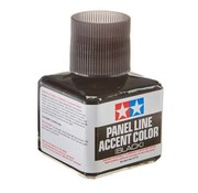 Tamiya (TAM) 865- 87131 Panel Line Accent Color Black (Wash)