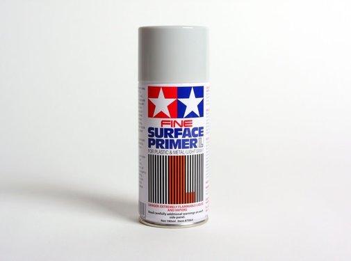 Tamiya (TAM) 865- 87064 FINE SURFACE PRIMER L Light Grey 180Ml Spray Can