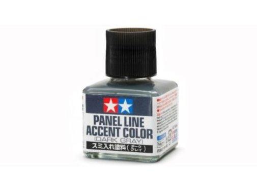 Tamiya (TAM) 865- 87199 PANEL LINE ACCENT COLOR Dark Gray (wash)