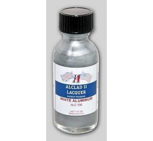 Alclad II Lacquers (ALC) 106 WHITE (Light) Aluminum 1oz