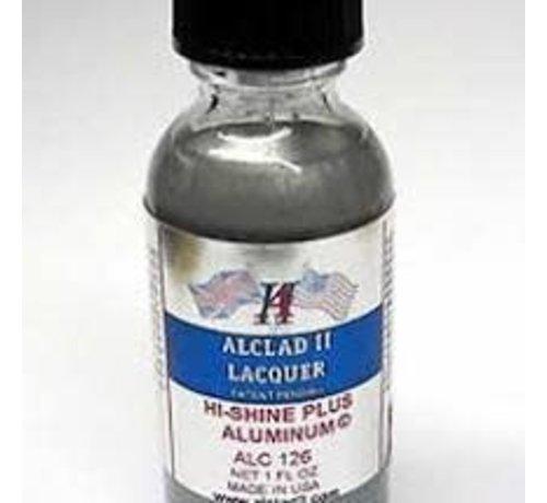 Alclad II Lacquers (ALC) 126 High Shine Plus Aluminum 1oz