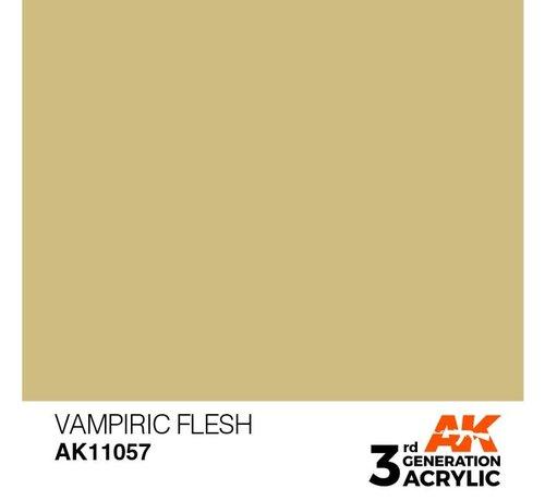 AK INTERACTIVE (AKI) 11057 AK Interactive 3rd Gen Acrylic Vampiric Flesh 17ml
