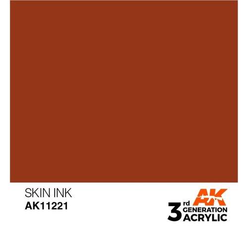 AK INTERACTIVE (AKI) 11221 AK Interactive 3rd Gen Acrylic Skin INK 17ml