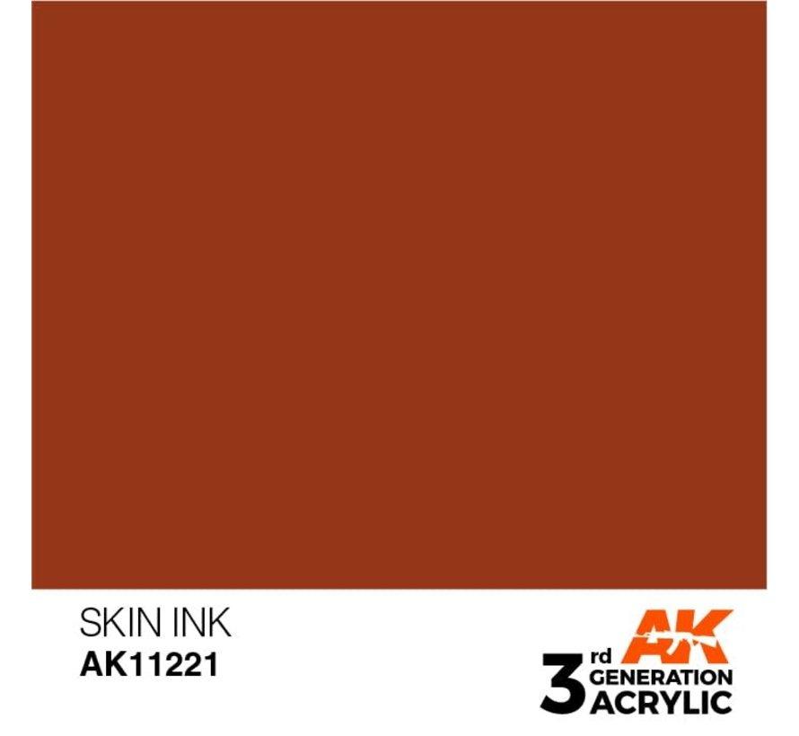 11221 AK Interactive 3rd Gen Acrylic Skin INK 17ml