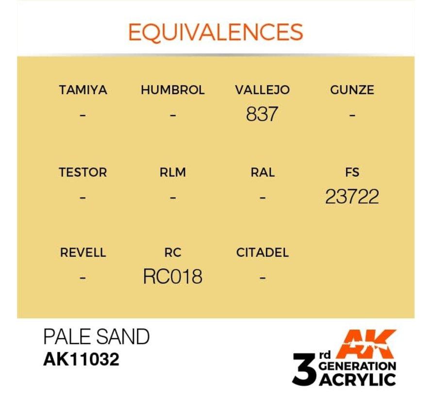 11032 AK Interactive 3rd Gen Acrylic Pale Sand 17ml
