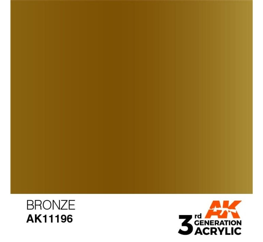 11196 Bronze 3rd Gen Acrylic 17ml