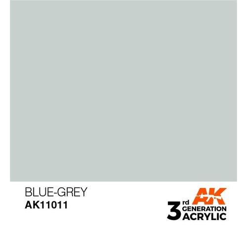 AK INTERACTIVE (AKI) 11011 AK Interactive 3rd Gen Acrylic Blue-Grey 17ml