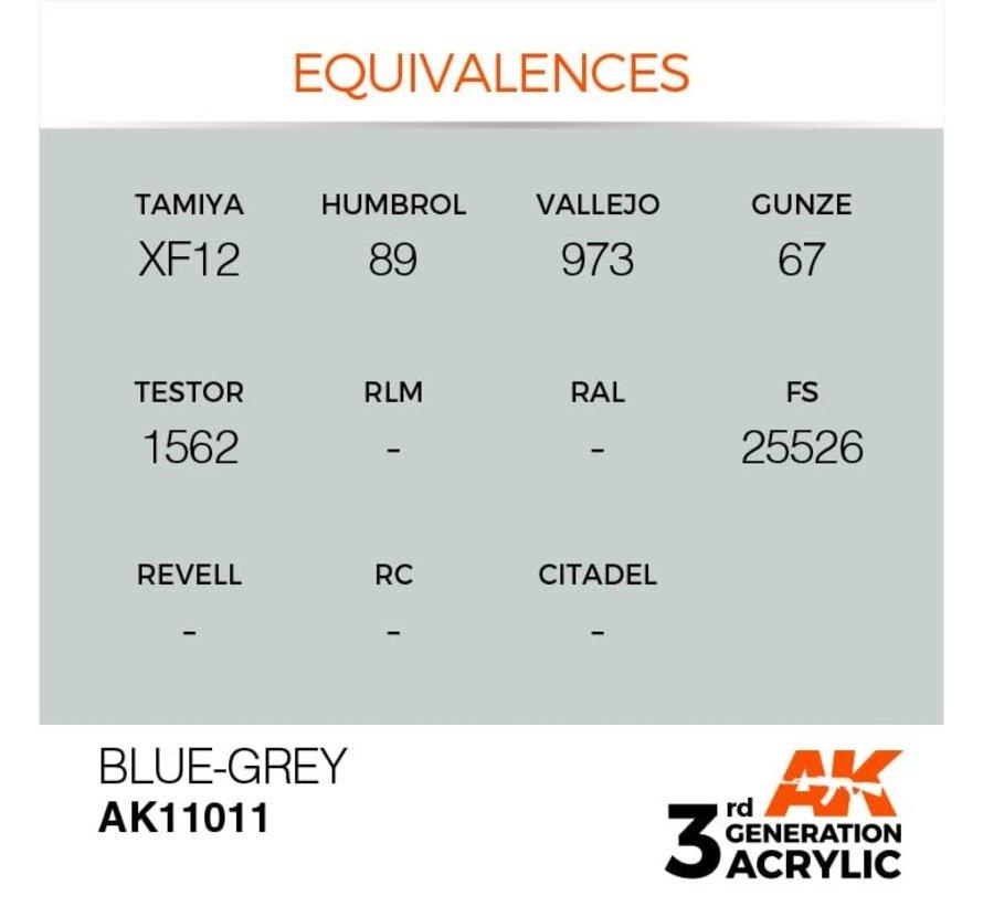 11011 AK Interactive 3rd Gen Acrylic Blue-Grey 17ml