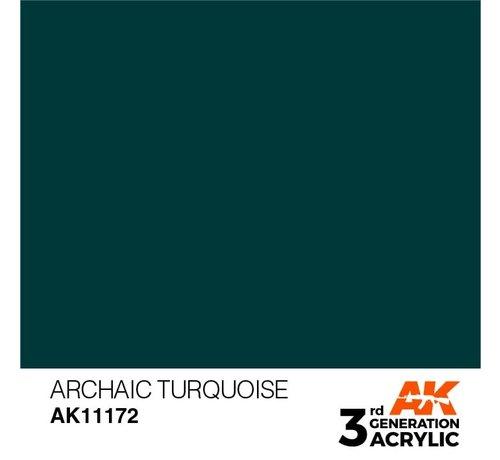 AK INTERACTIVE (AKI) 11172 AK Interactive 3rd Gen Acrylic Archaic Turquoise 17ml