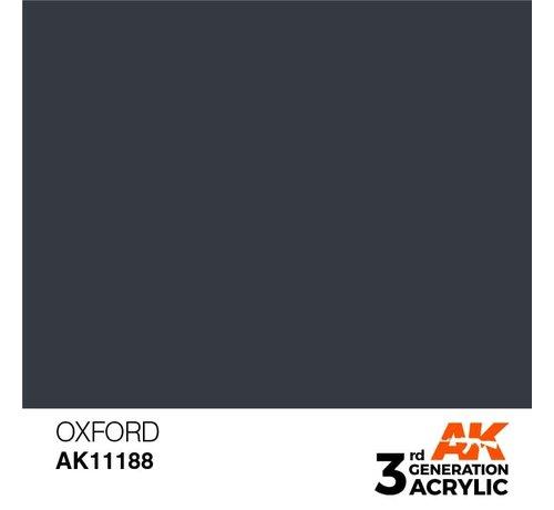AK INTERACTIVE (AKI) 11188 Oxford 3rd Gen Acrylic 17ml