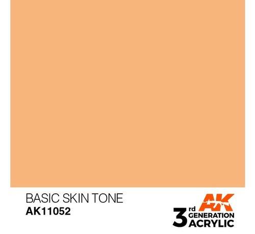 AK INTERACTIVE (AKI) 11052 AK Interactive 3rd Gen Acrylic Basic Skin Tone 17ml
