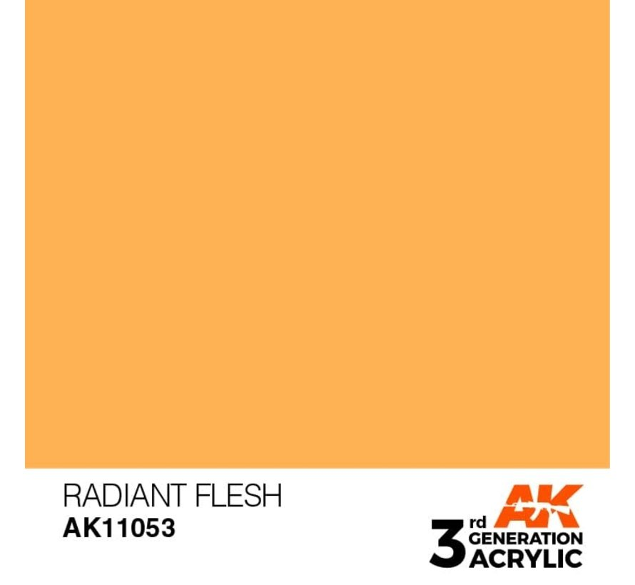 11053 AK Interactive 3rd Gen Acrylic Radiant Flesh 17ml