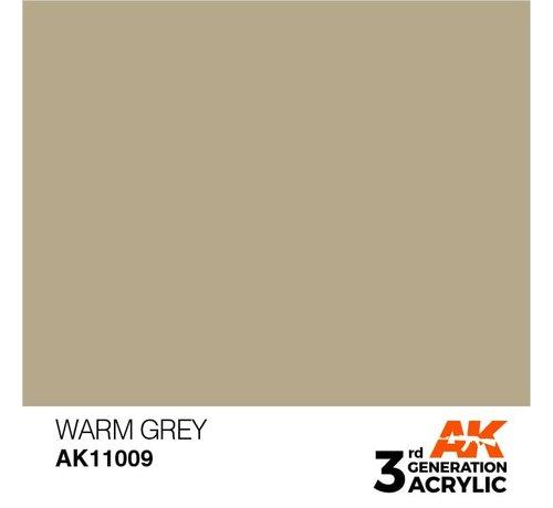 AK INTERACTIVE (AKI) 11009 AK Interactive 3rd Gen Acrylic Warm Grey 17ml