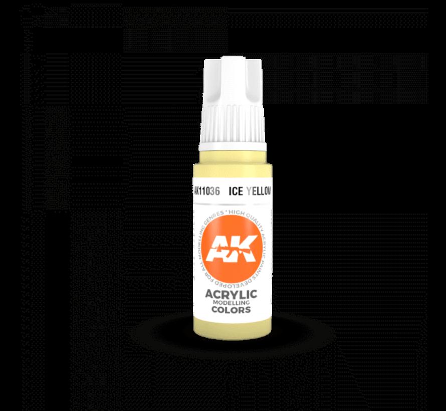 11036 AK Interactive 3rd Gen Acrylic Ice Yellow 17ml