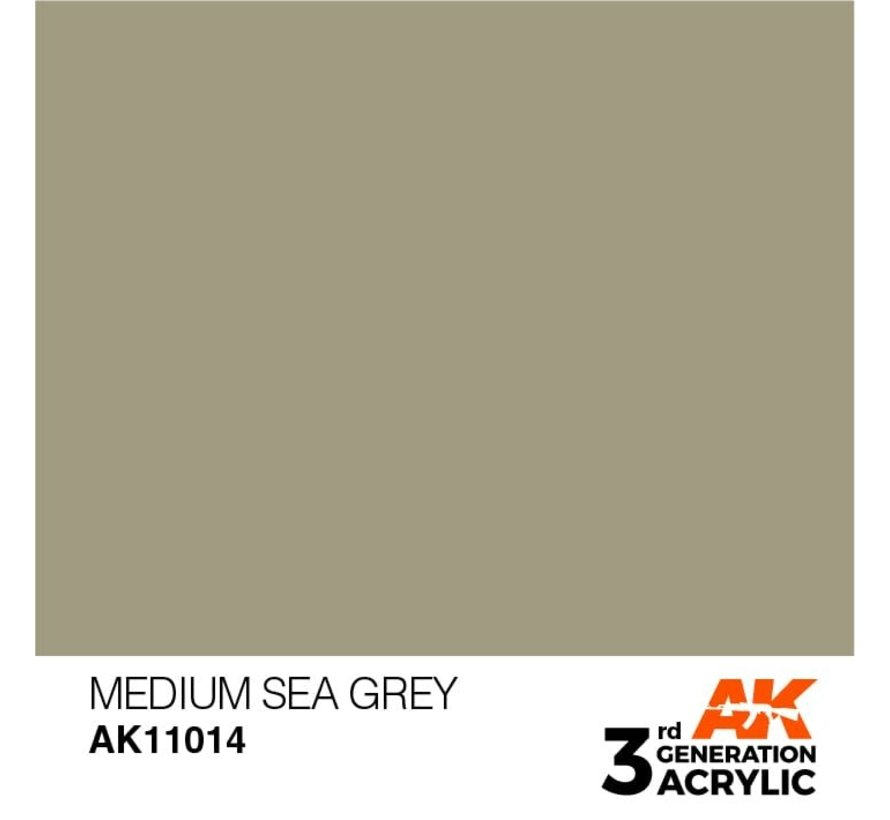 11014 AK Interactive 3rd Gen Acrylic Medium Sea Grey 17ml