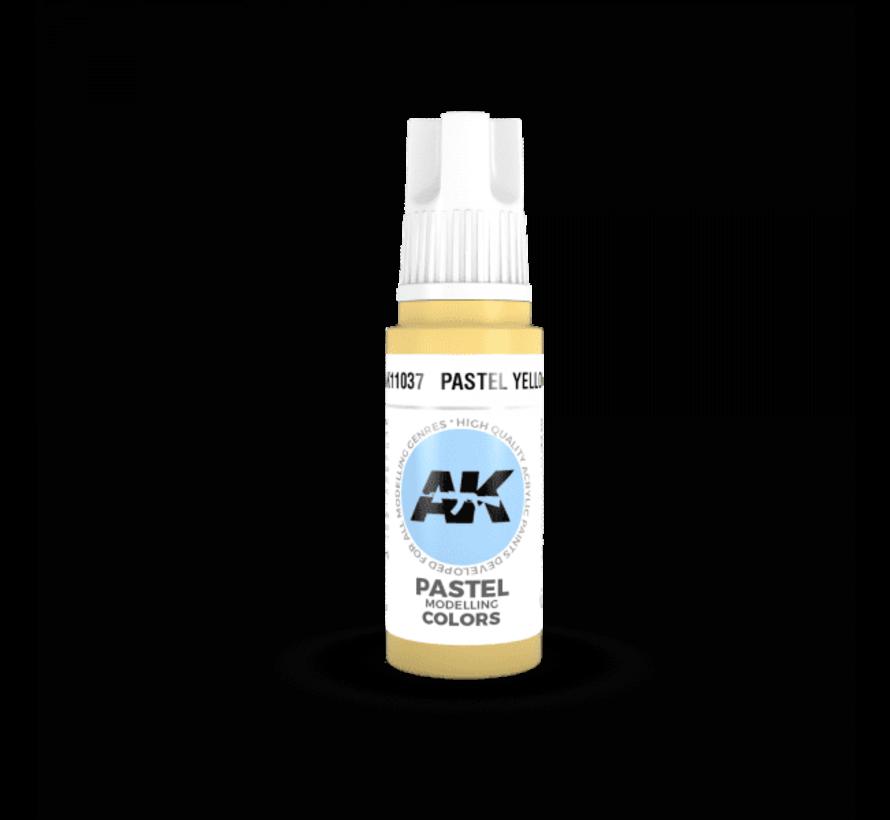11037 AK Interactive 3rd Gen Acrylic Pastel Yellow 17ml