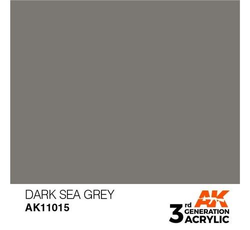 AK INTERACTIVE (AKI) 11015 AK Interactive 3rd Gen Acrylic Dark Sea Grey 17ml