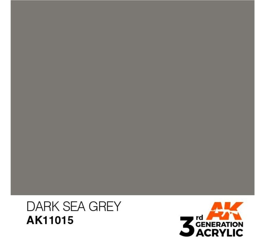 11015 AK Interactive 3rd Gen Acrylic Dark Sea Grey 17ml