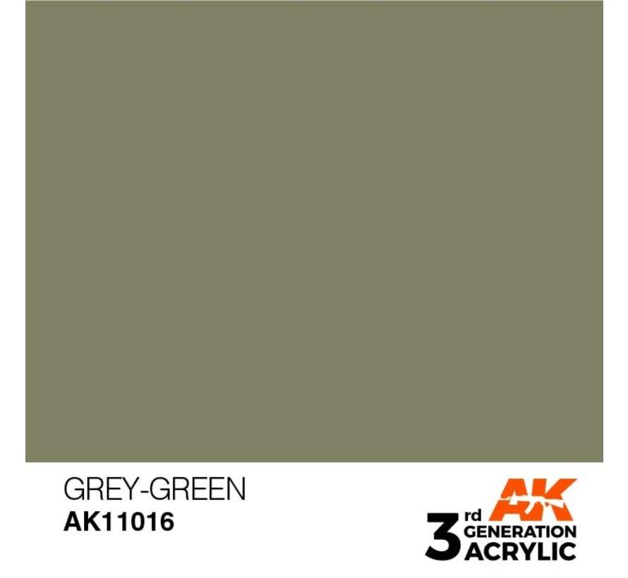 11016 AK Interactive 3rd Gen Acrylic Grey-Green 17ml