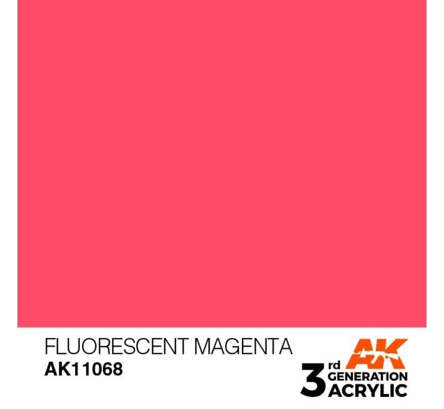 11068 AK Interactive 3rd Gen Acrylic Fluorescent Magenta 17ml