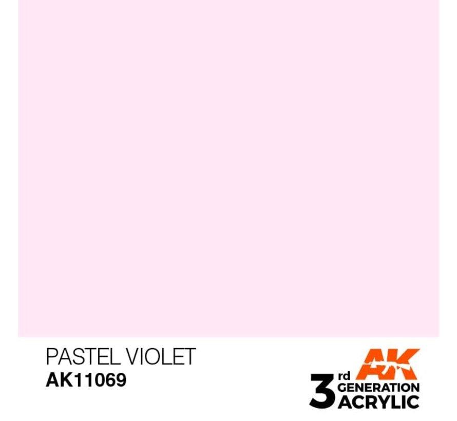 11069 AK Interactive 3rd Gen Acrylic Pastel Violet 17ml