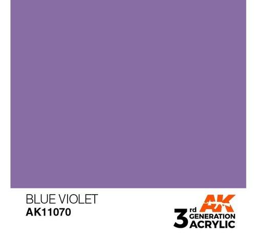 AK INTERACTIVE (AKI) 11070 AK Interactive 3rd Gen Acrylic Blue Violet 17ml