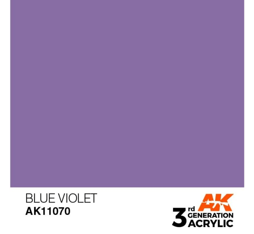 11070 AK Interactive 3rd Gen Acrylic Blue Violet 17ml