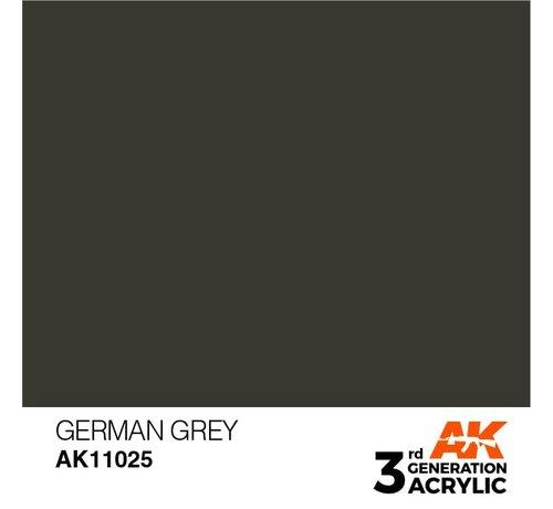AK INTERACTIVE (AKI) 11025 AK Interactive 3rd Gen Acrylic German Grey 17ml