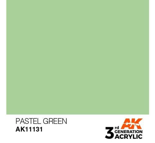 AK INTERACTIVE (AKI) 11131 AK Interactive 3rd Gen Acrylic Pastel Green 17ml
