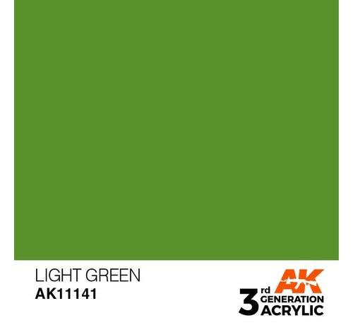 AK INTERACTIVE (AKI) 11141 AK Interactive 3rd Gen Acrylic Light Green 17ml