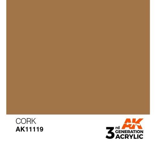 AK INTERACTIVE (AKI) 11119 AK Interactive 3rd Gen Acrylic Cork 17ml