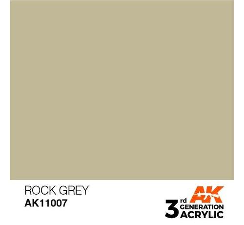 AK INTERACTIVE (AKI) 11007 AK Interactive 3rd Gen Acrylic Rock Grey 17ml
