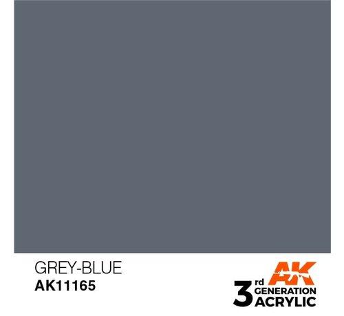 AK INTERACTIVE (AKI) 11165 AK Interactive 3rd Gen Acrylic Grey-Blue 17ml