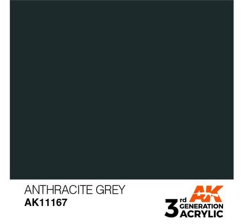 AK INTERACTIVE (AKI) 11167 AK Interactive 3rd Gen Acrylic Anthracite Grey 17ml