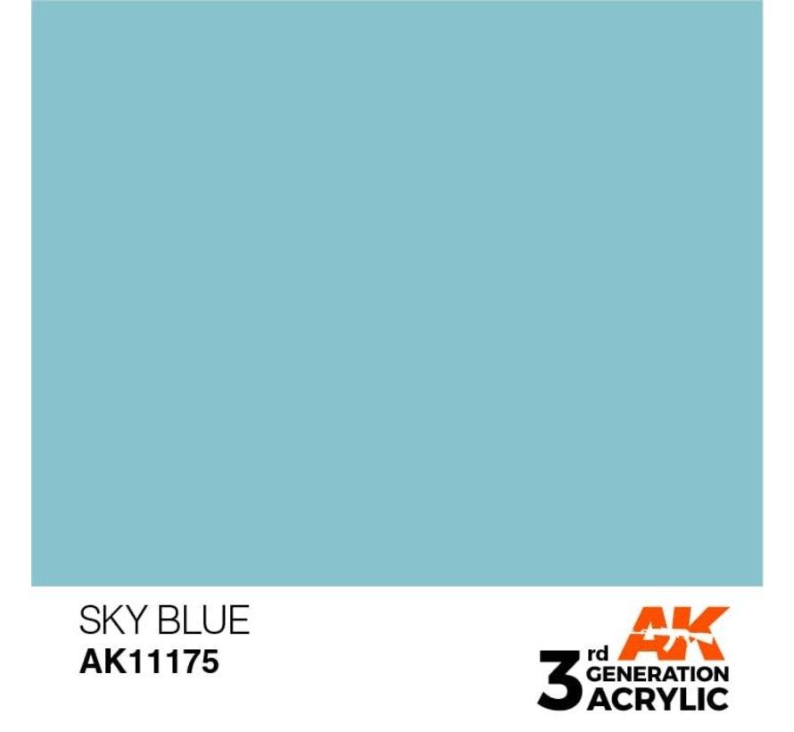11175 AK Interactive 3rd Gen Acrylic Sky Blue 17ml