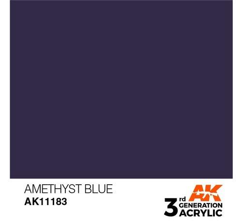 AK INTERACTIVE (AKI) 11183 Amethyst Blue 3rd Gen Acrylic 17ml