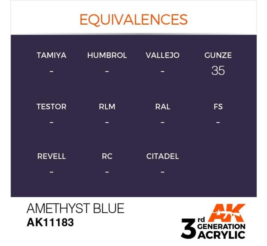 11183 Amethyst Blue 3rd Gen Acrylic 17ml