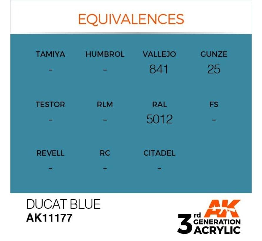 11177 Ducat Blue 3rd Gen Acrylic 17ml