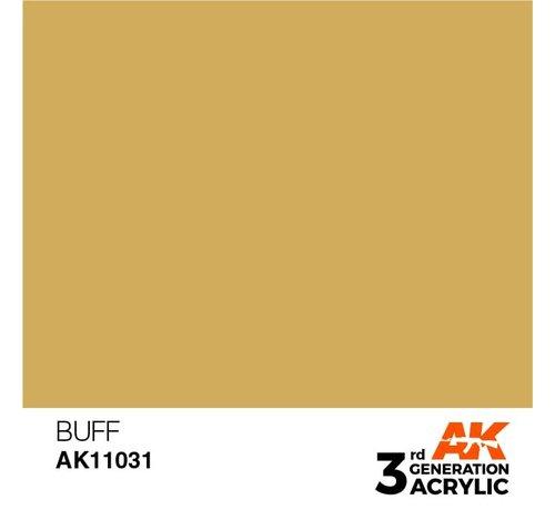 AK INTERACTIVE (AKI) 11031 AK Interactive 3rd Gen Acrylic Buff 17ml