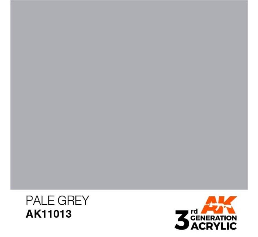 11013 AK Interactive 3rd Gen Acrylic Pale Grey 17ml