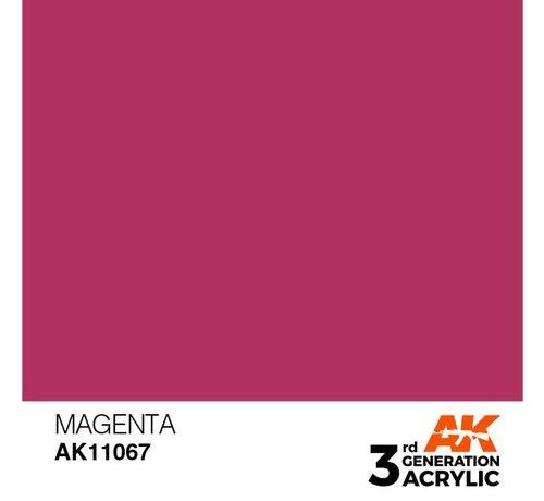 AK INTERACTIVE (AKI) 11067 AK Interactive 3rd Gen Acrylic Magenta 17ml